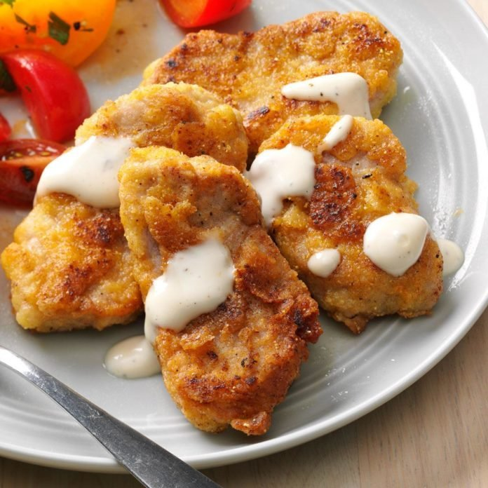 Breaded Pork Tenderloin