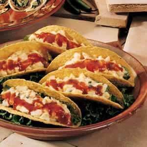 Egg Salad Tacos