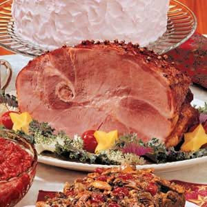 Spiced Holiday Ham