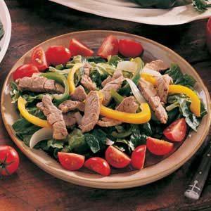 Warm Fajita Salad