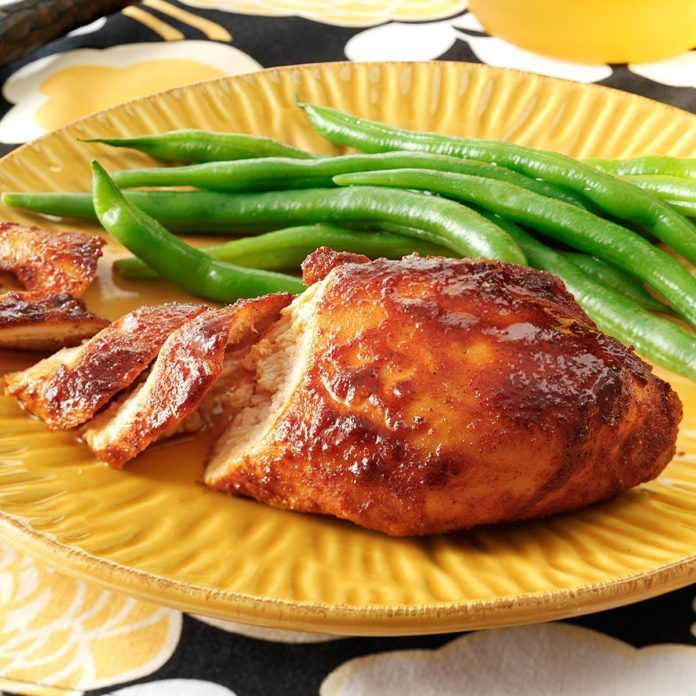 Honey & Spice Baked Chicken