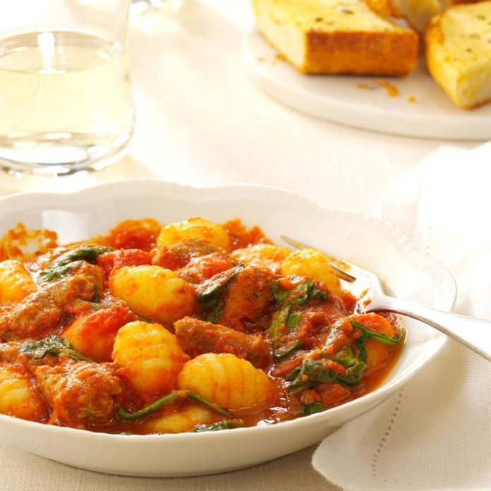 Inspired by: Gnocchi & Italian Sausage