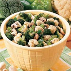 Marinated Fresh Vegetables