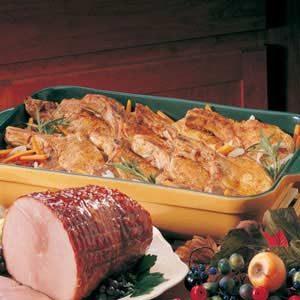 Vegetable Pork Chop Dinner