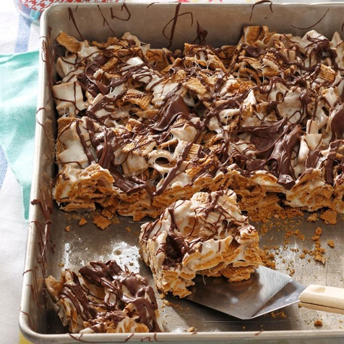 Chocolaty S'mores Bars