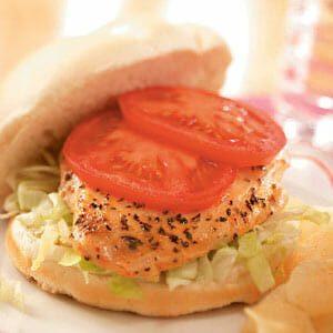 Honey-Mustard Chicken Sandwiches