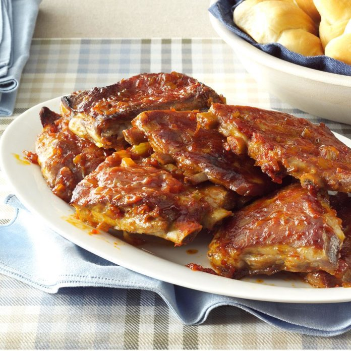 Tangy Spareribs