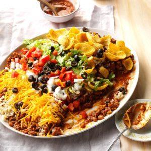 Texas Taco Dip Platter