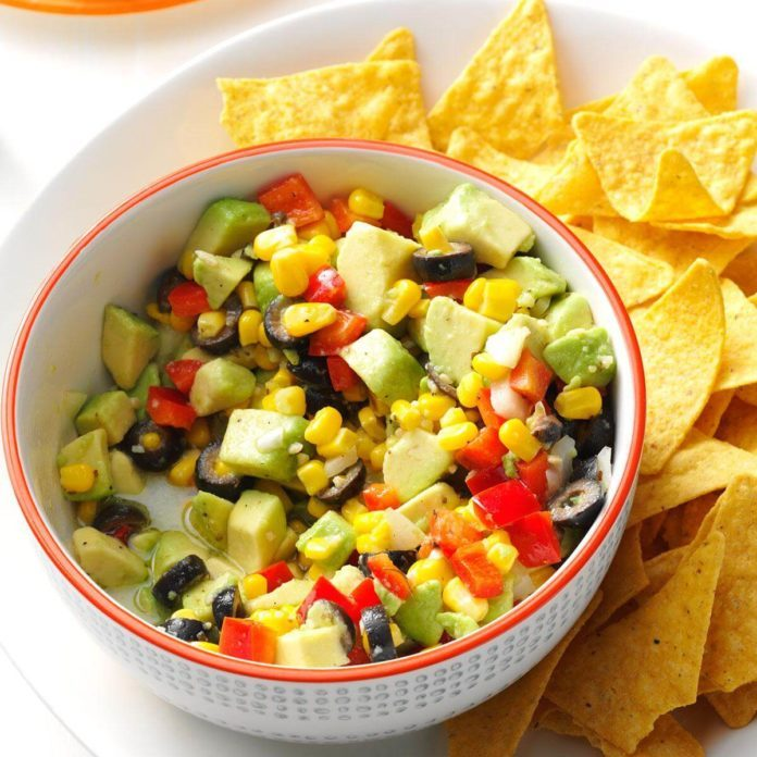 Inspired by: White Corn Guacamole + Chips