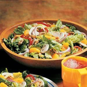 Quick Citrus Tossed Salad