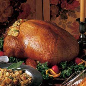 Turkey with Cornbread Dressing