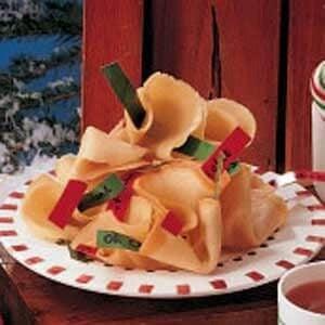 Caroling Fortune Cookies
