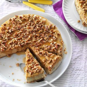 Honey Pecan Cheesecake