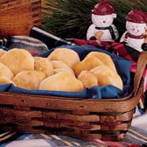Flaky Garlic Rolls