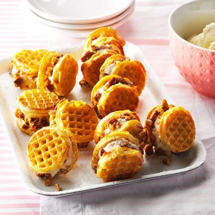 Ice Cream Wafflewiches