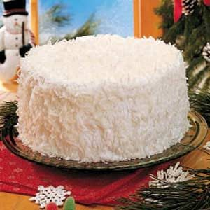 Mama S Snow Cake Recipe Taste Of Home