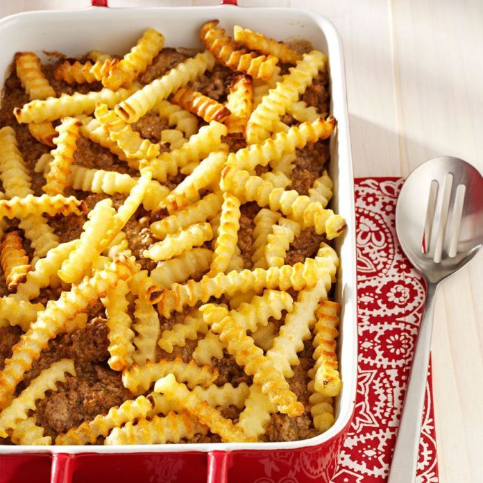 Indiana: Cheeseburger 'n' Fries Casserole