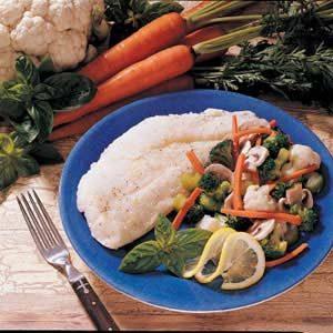 Fish and Veggies Primavera