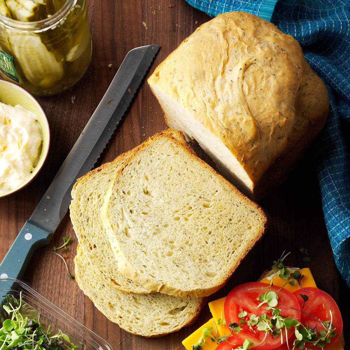Flavorful Herb Bread Recipe | Taste of Home