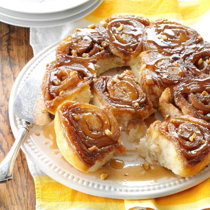 Vermont: Maple Sticky Buns