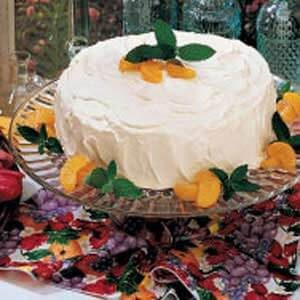 Orange Pineapple Torte