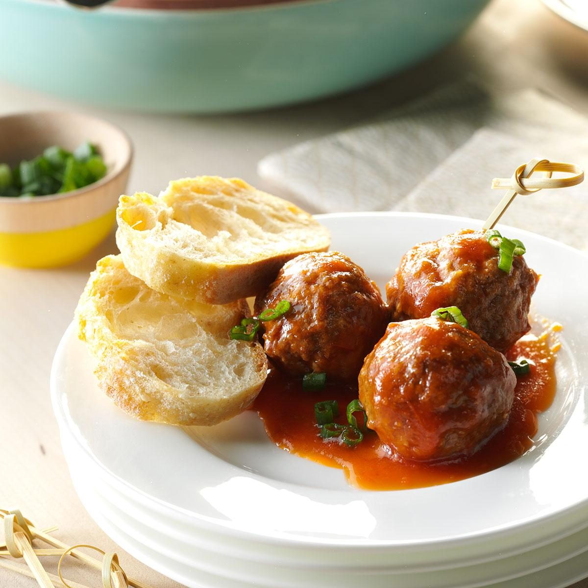 Slow-Cooker Sweet And Sour Meatballs Recipe