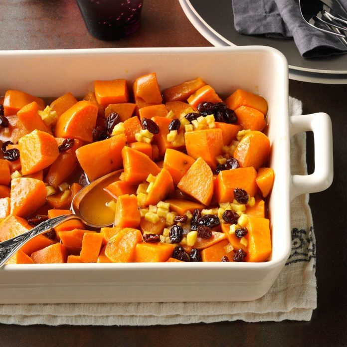 Brown Sugar-Glazed Sweet Potatoes