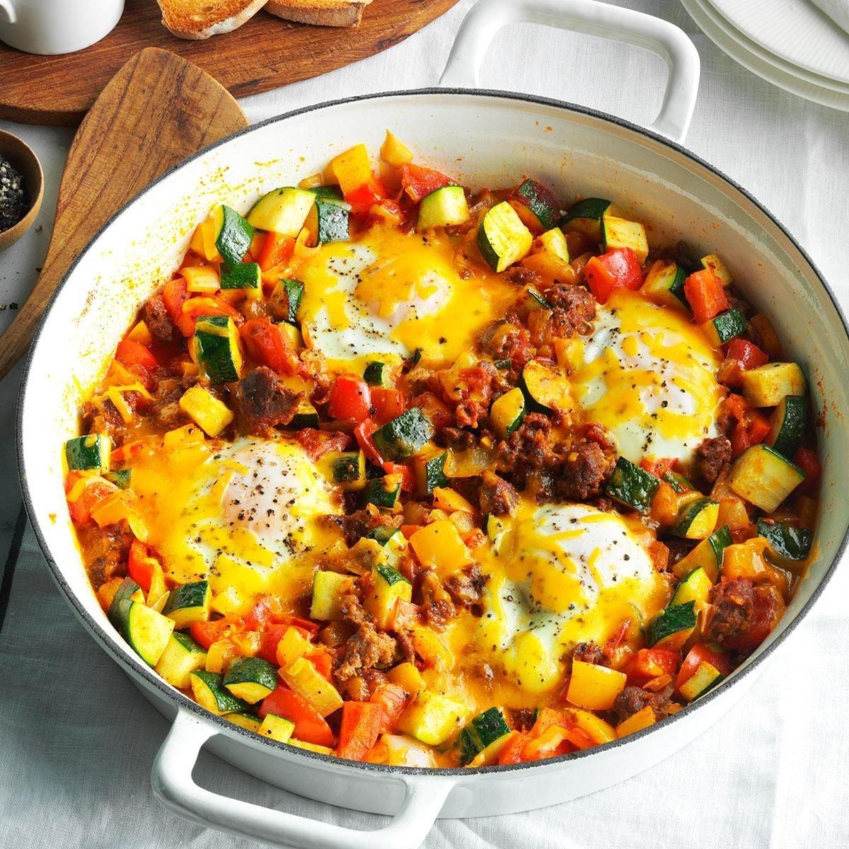 Summer Breakfast Skillet Recipe Taste Of Home