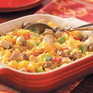 Pork Noodle Casserole