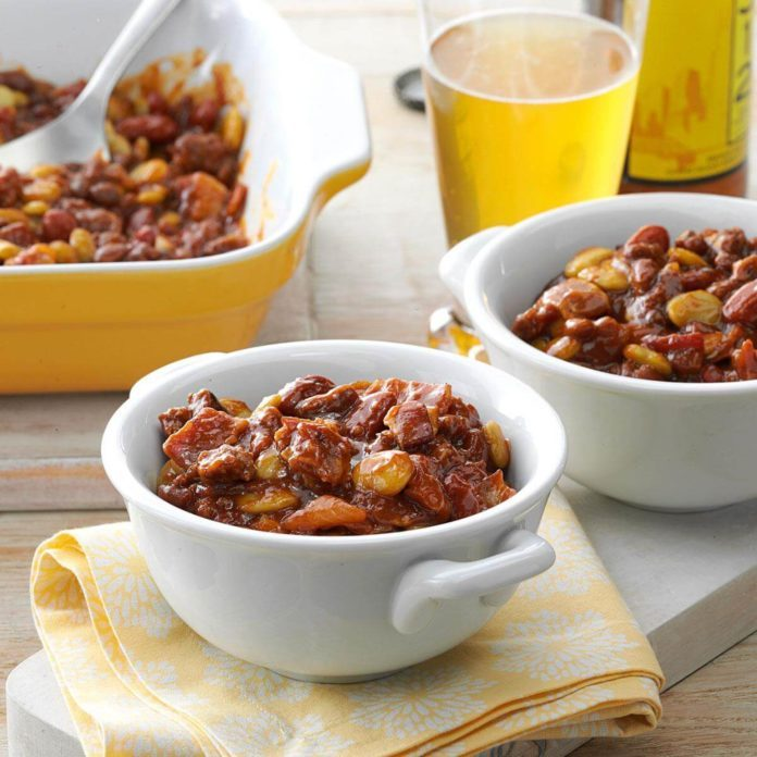 Day 1: Fourth of July Bean Casserole