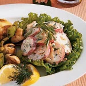 Easy Low Fat Potato Salad