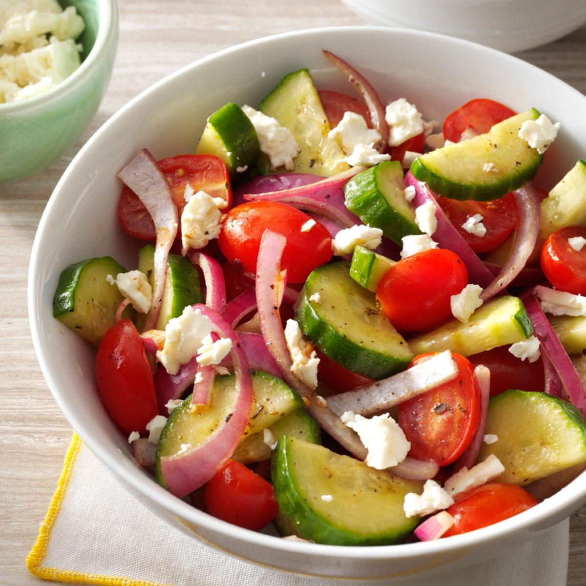 Balsamic Cucumber Salad Recipe Taste Of Home