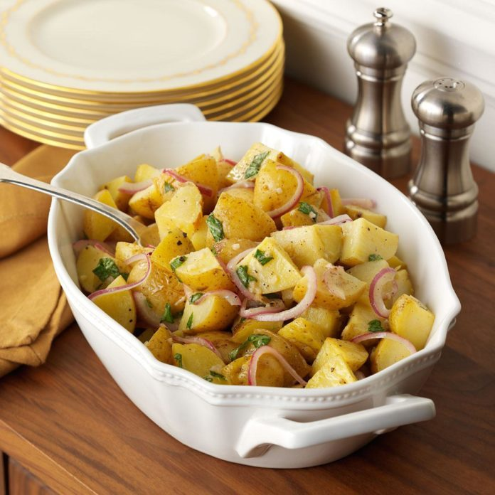 Lemon-Basil Roasted Potatoes