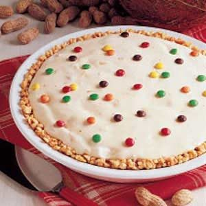 Peanutty Ice Cream Pie