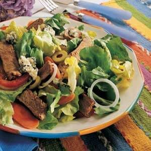 Buffalo Steak Salad