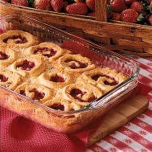 Strawberry Swirls