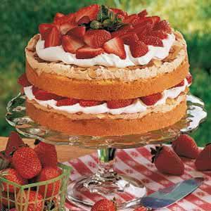 Special Strawberry Torte