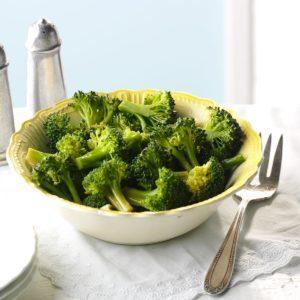 Dill-Marinated Broccoli