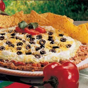 Taco Dip Platter