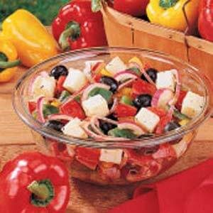 Grilled Three-Pepper Salad