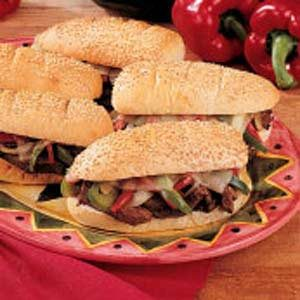 Peppery Philly Steaks