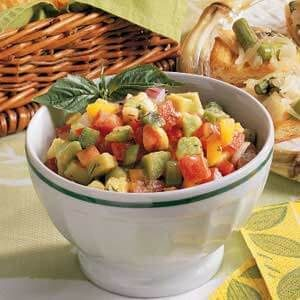 Pepper Avocado Salsa