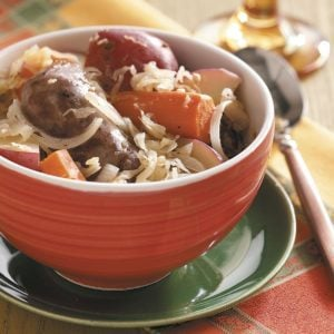 Sausage Sauerkraut Supper