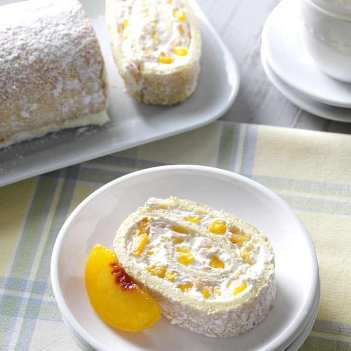 Peaches & Cream Jelly Roll