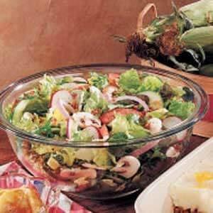 Colorful Garden Salad