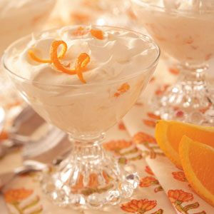 Orange Whipped Dessert