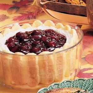 Ladyfinger Trifle