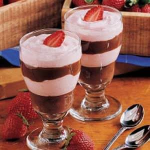 Chocolate Berry Parfaits