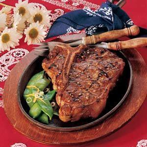 Sesame Steaks