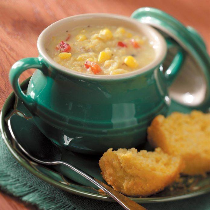 Simple Corn Chowder